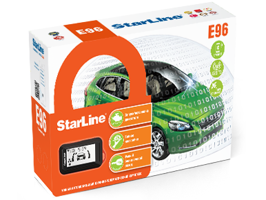 Купить starline e96 bt 2can+2lin gsm gps
