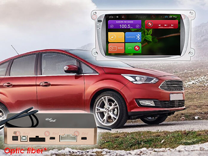 31003 IPS Ford Focus (Android 6+) цвет серый